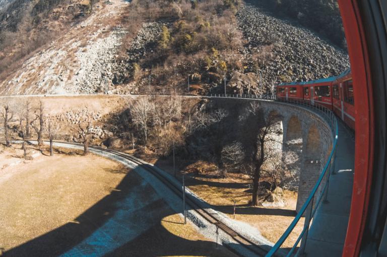 treno del Bernina
