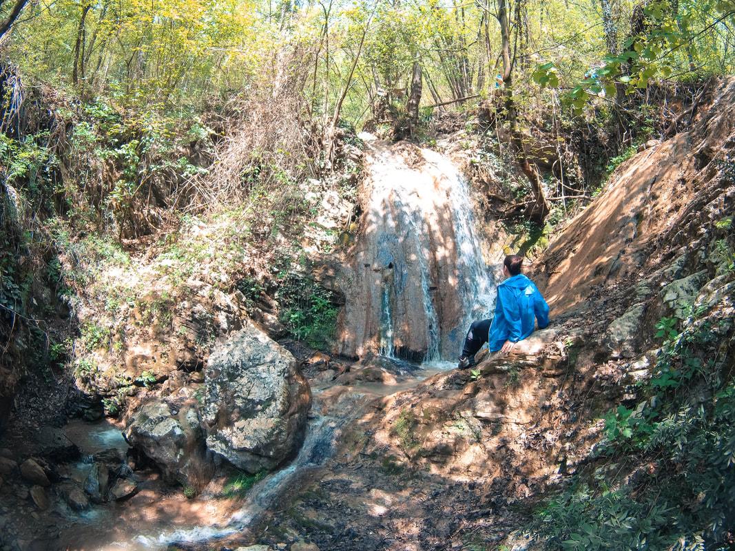 Sentiero delle cascate di Monticelli Brusati